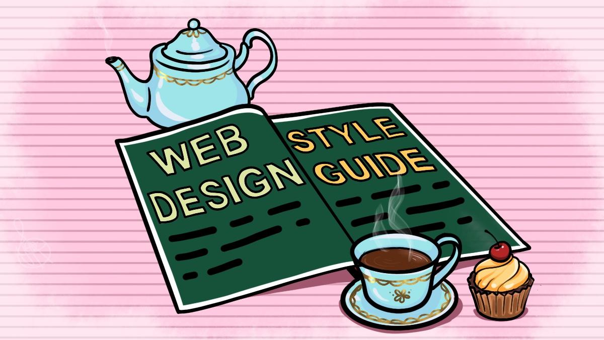 Журнал на столе со статьёй о дизайн-концепции