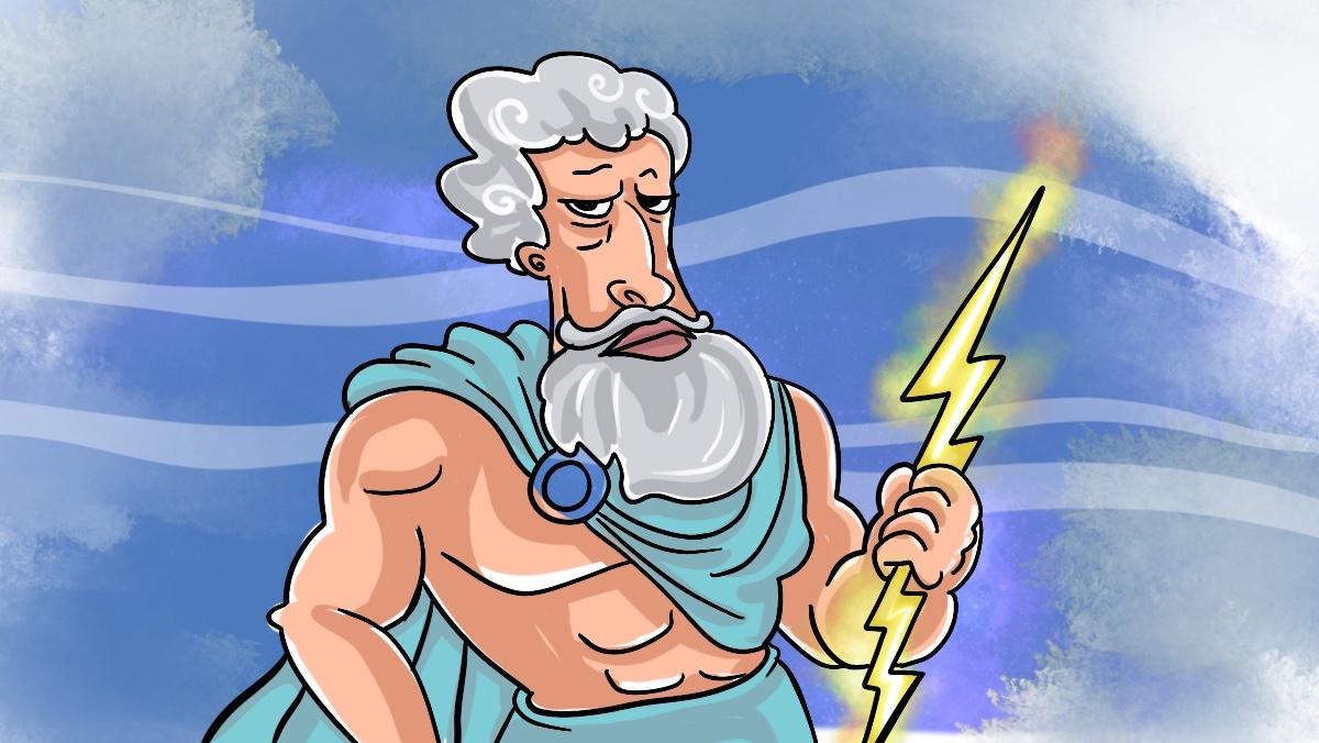 Зевс с молнией на страже
