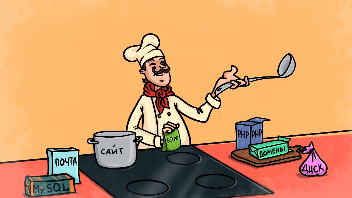 Подбор хостинга как приготовление блюда